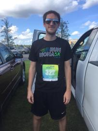 Shaun Marriott Pre Run Nona 5k