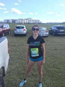 Claire Marriott Pre Run Nona 5k