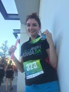 Claire Marriott - Run Nona 5k