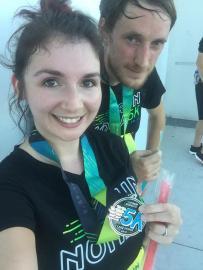 Post race- Run Nona 5k